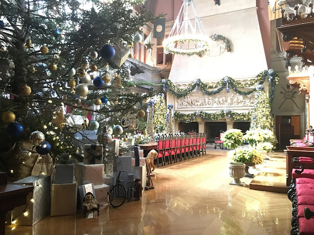 Biltmore Banquet Hall at Christmas