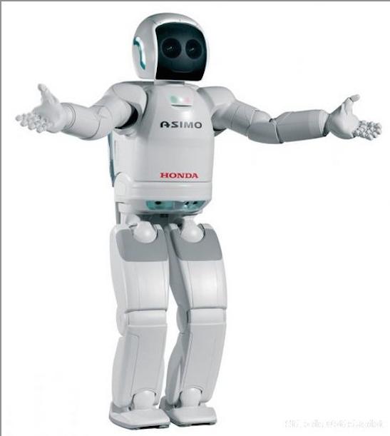 Asimo Humanoid Robot From Honda