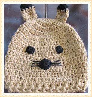 cute animal crochet cap pattern