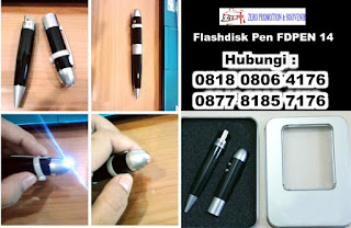 Souvenir Pulpen Pointer USB Senter, Flashdisk Pen Multifungsi, 4 IN 1 USB Pointer Pen & Lamp FDPEN14, Flashdisk pen unik multi fungsi