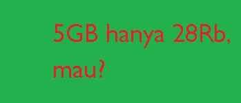 kali ini admin kembali memberikan informasi terkait cara cek sisa paket data internet ata Paket Internet Telkomsel Murah 5Gb hanya 28Rb Segera Aktifkan Paket data Anda