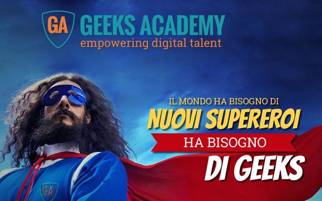 Geeks Academy, the Italian network of digital training in the fields of Cybersecurity, Big Data, Coding and Gaming