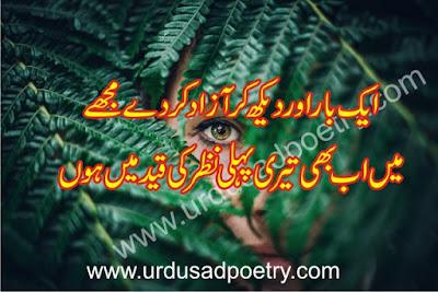 Aik Bar Aur Daikh Ker Azaad Kerday Mujhay