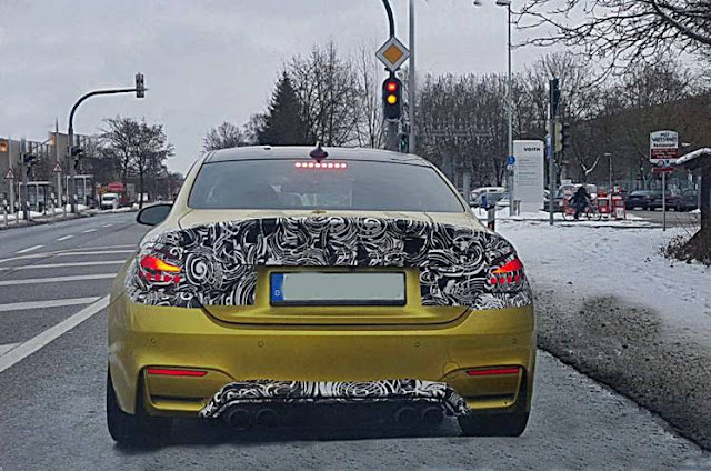 2018 BMW M4 Facelift spotted, to be unveiled in March