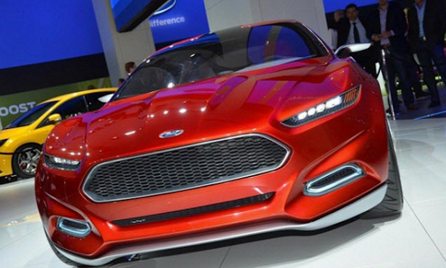 2018 Ford Fusion Coupe Front