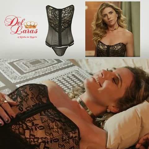Atena (Giovanna Antonelli) A regra do jogo,lingerie
