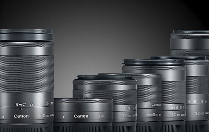 Объективы Canon EF-M