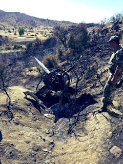 Rudal S-200 Suriah Jatuh di Siprus