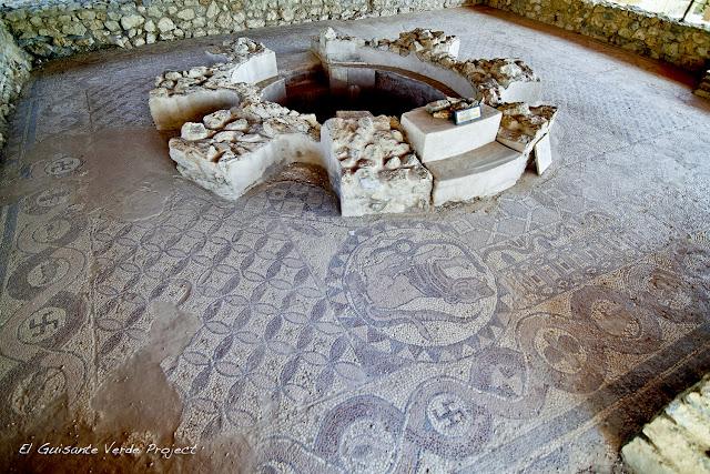 Mosaico del Monasterio de San Clemente, Ohrid - Macedonia por El Guisante Verde Project