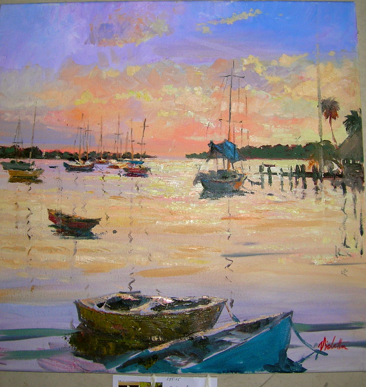 Indian Beach: PleinAireCottageArtists: Sunsets And Indian Rocks Beach