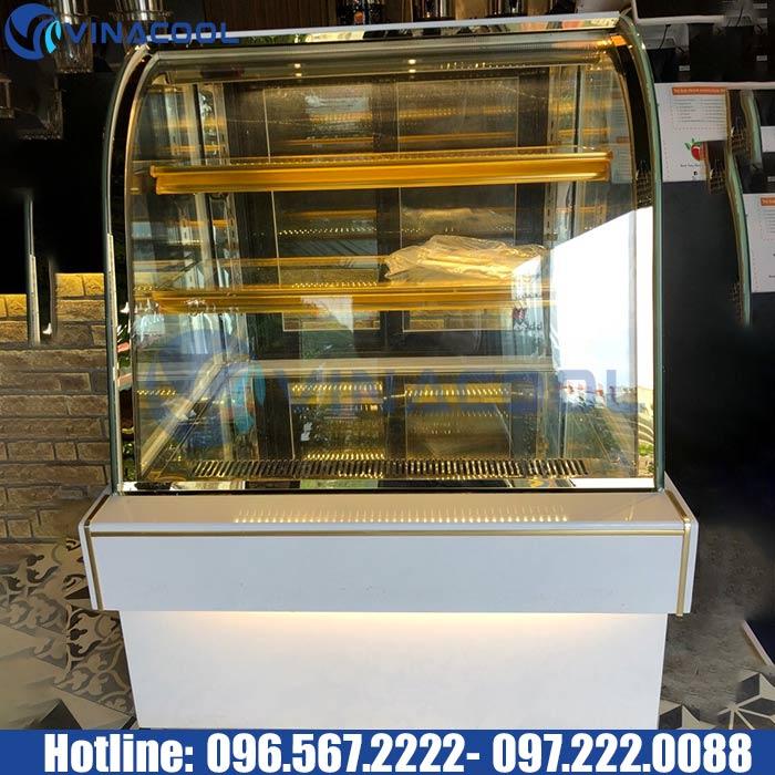 Tủ trưng bày bánh kem giá rẻ Vinacool đẹp không rời mắt