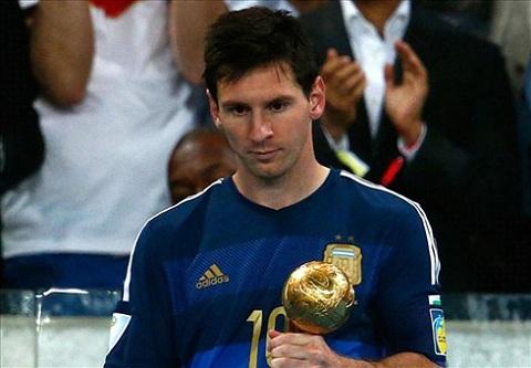 Messi và danh hiệu quả bóng vàng.