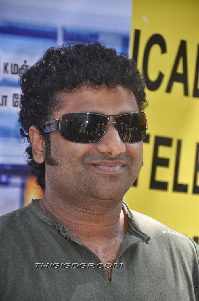 Devi Sri Prasad at Bramman Press Meet