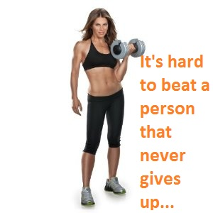 JILLIAN MICHAELS WORKOUT QUOTE