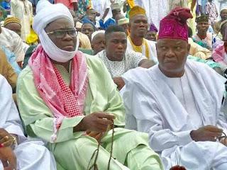 Fayose sacks aide over Eid el-kabir prayers