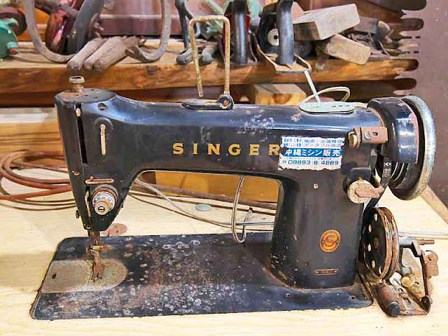 Singer sewing machine, antique