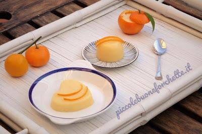 foto Ricetta budino senza uova agli agrumi per bambini