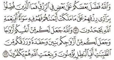 Tafsir Surat An-Nahl Ayat 71, 72, 73, 74, 75
