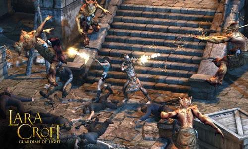 لعبة لارا كروفت Lara Croft and the Guardian of Light مجانا