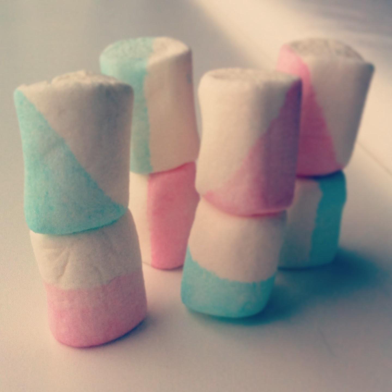 Handmade wedding decorations by Kesz: Sweet marshmallows