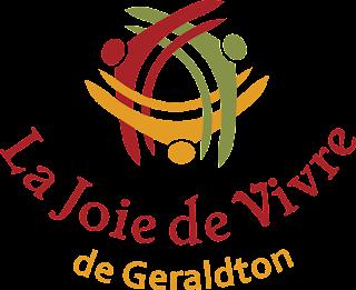 Le logo de la Joie de vivre de Geraldton