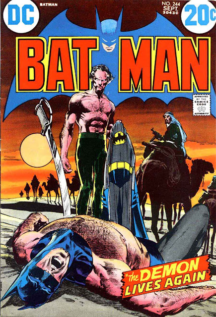 Batman v1 #244 dc comic book cover art by Neal Adams