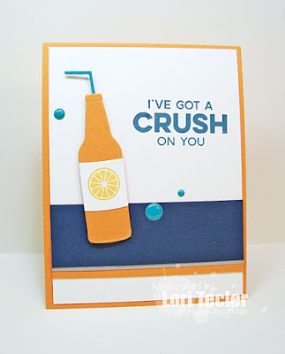 I've Got a Crush on You card-designed by Lori Tecler/Inking Aloud-stamps and dies from My Favorite Things