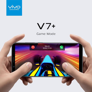 Mengaktifkan Mode Game HP Vivo V7+