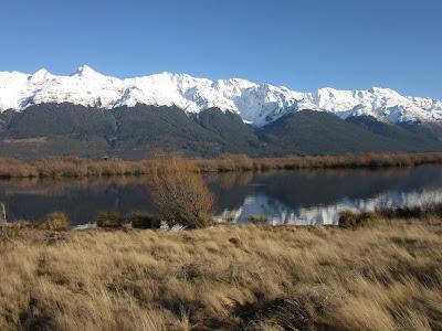 Vistas desde el Glenorchy Walkway, Nueva Zelanda.