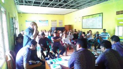 Polemik Pemasangan Tiang SUTM PT PLN Banten Selatan