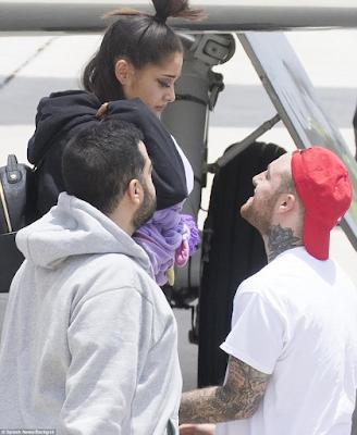 Photos: Ariana Grande arrives Florida after Manchester bomb attack