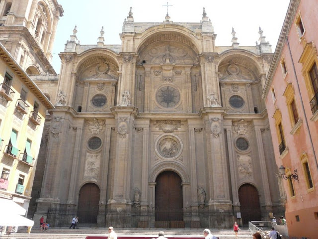 Fachada da Catedral de Granada