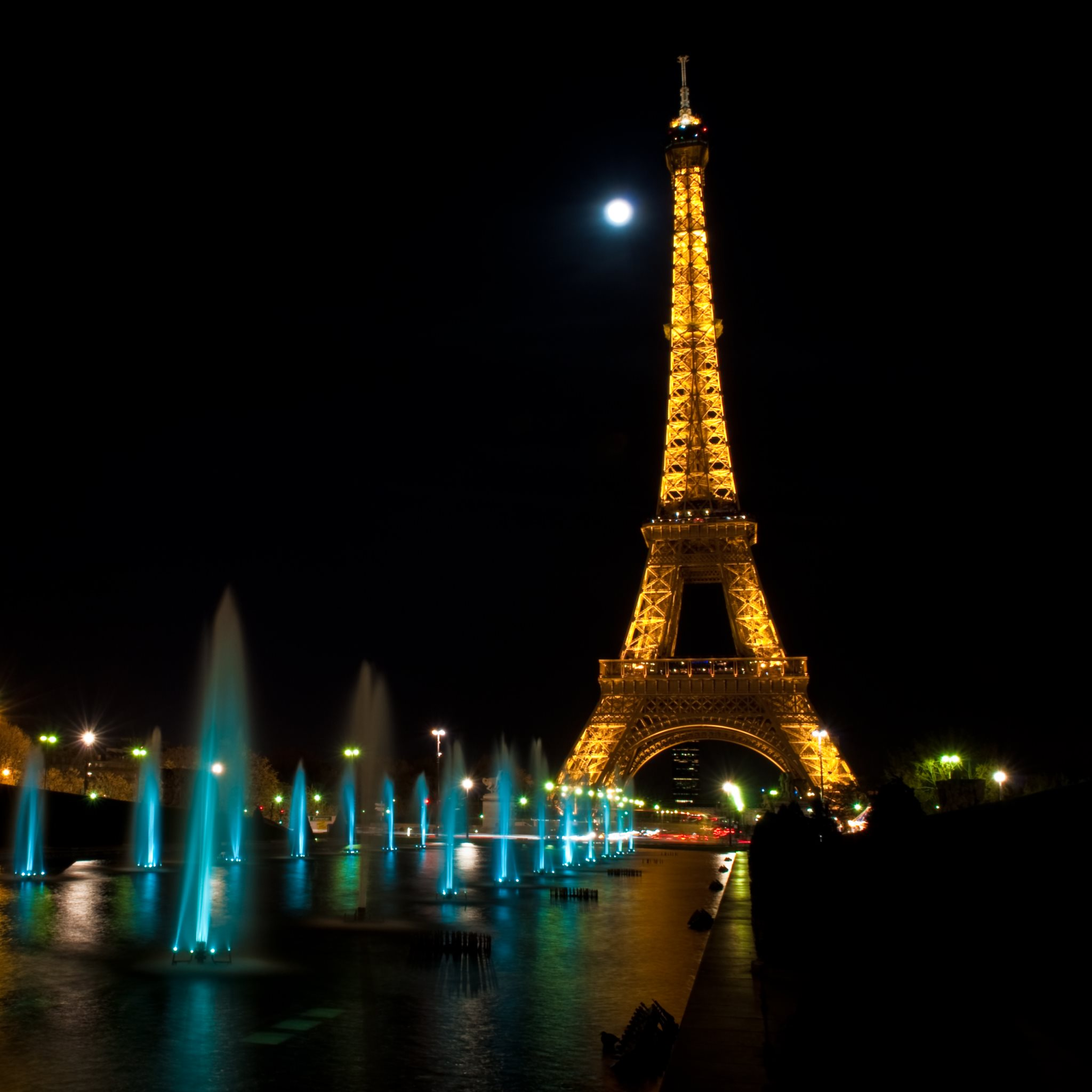 Paris at Night. Tour Eiffel HD wallpapers | 4K MacBook and ...
