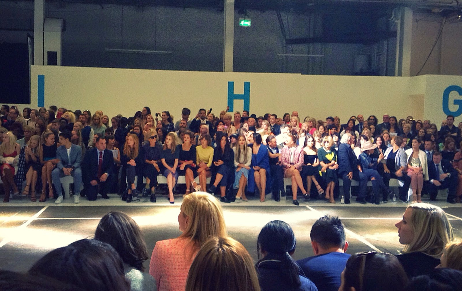 Topshop Unique SS15 Front Row