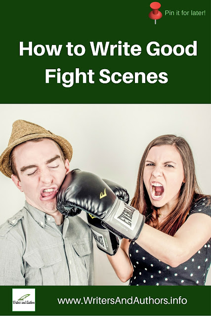 How to Write Good Fight Scenes #Writing #WritingTips