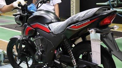 Tampilan Baru Motor Honda Verza CB150 2019, Dengan Grafis Baru Semakin Terlihat Minor