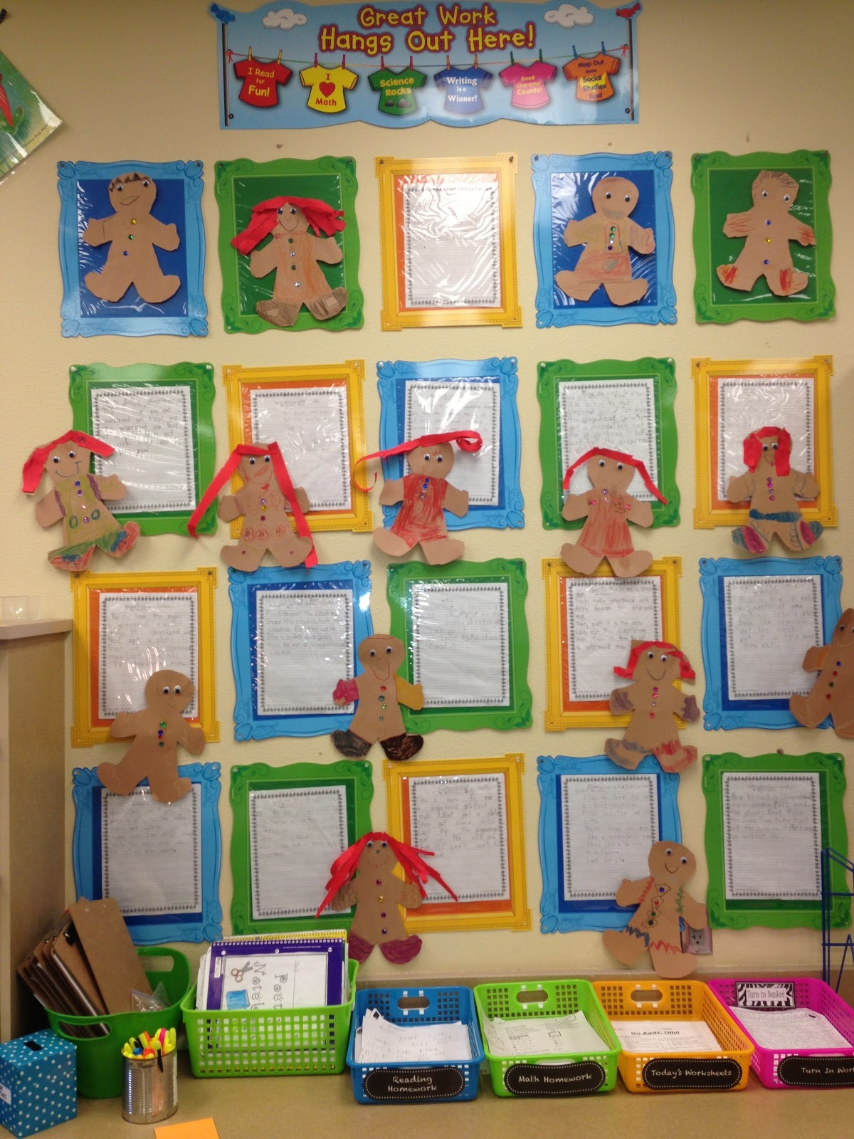Rambling About Reading Gingerbread Stories And Decorating