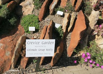 Crevice garden, Yampa River Botanic Park