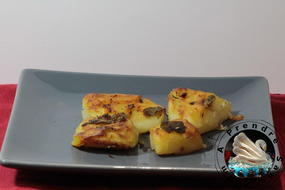 Pommes de terre au four au beurre clémentine