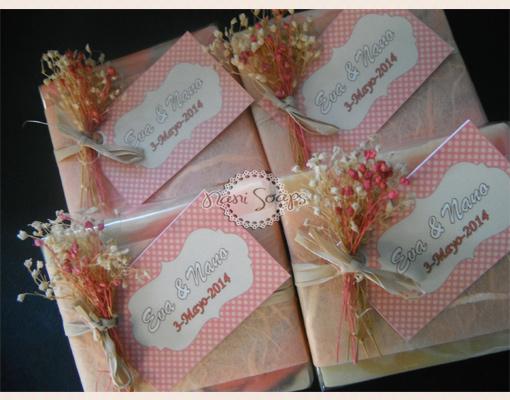 jabones personalizados boda comuniones