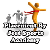 placement done by jeet sports academy
