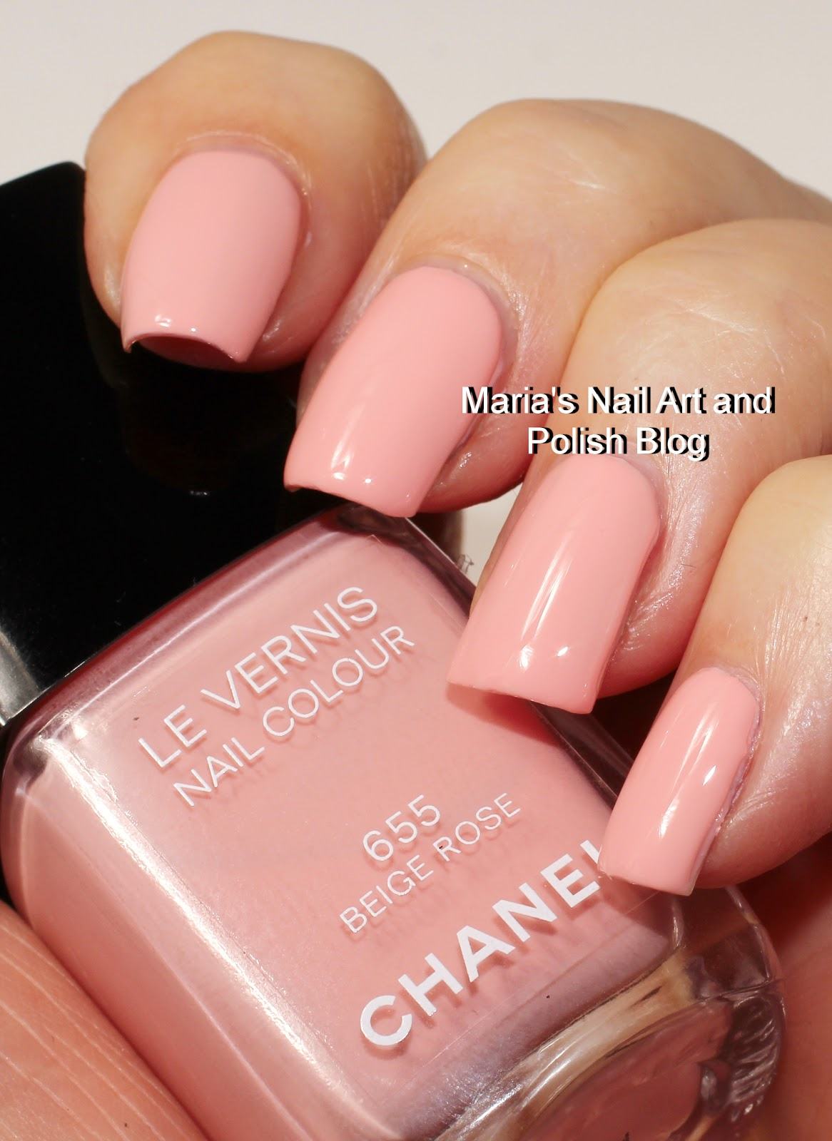 Marias Nail Art And Polish Blog Chanel Beige Rose 655 Les Beiges Coll Swatches