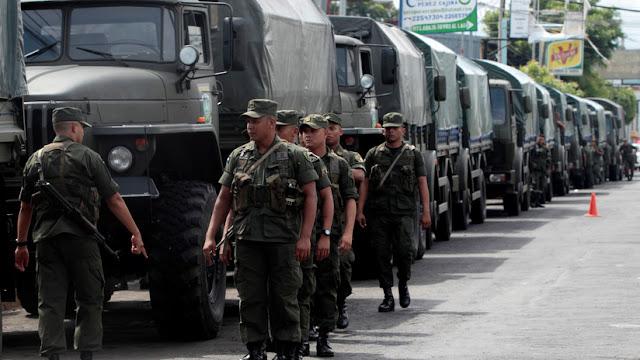 """Ejército de Nicaragua """"no reprime"""" protestas contra Ortega y cree que """"el diálogo es la solución"""""""