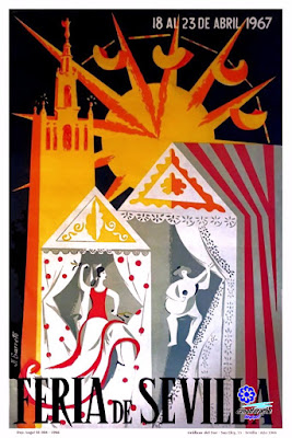 Cartel Feria de Sevilla 1967 - Juan López Barreto