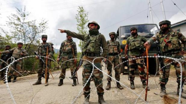 There is a terrorist attack once again between the political turmoil in the valley. The terrorists attacked the army camp in Kulgam on Thursday morning.