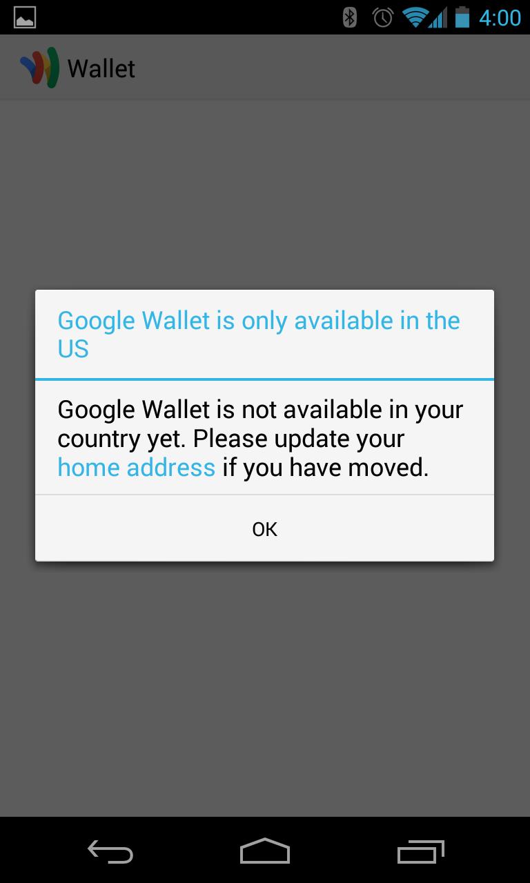 New Google Wallet [apk download] ~ Android Coliseum
