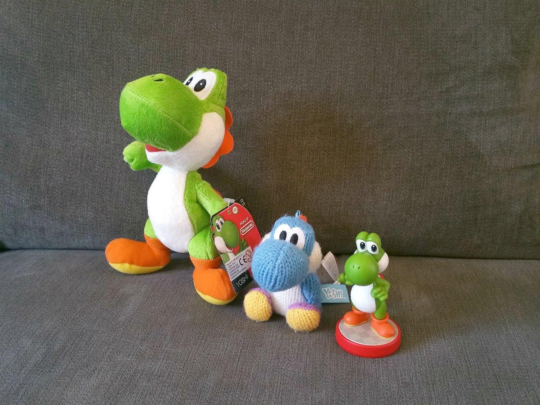 Nintendo plush toys, Yoshi plush, Mario plush