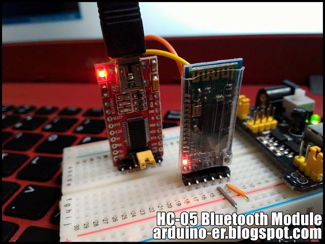 Arduino er first test hc bluetooth module