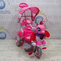 unicorn family tiga roda sepeda