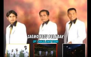 Lirik Lagu Natal Toraja Saemo Yesu Pela'bak (Trio Sapari)